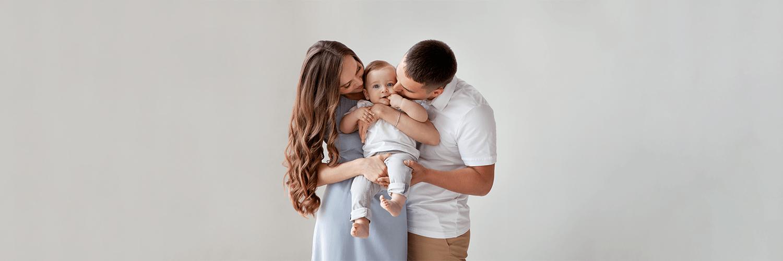 Foto Familie mit Baby
